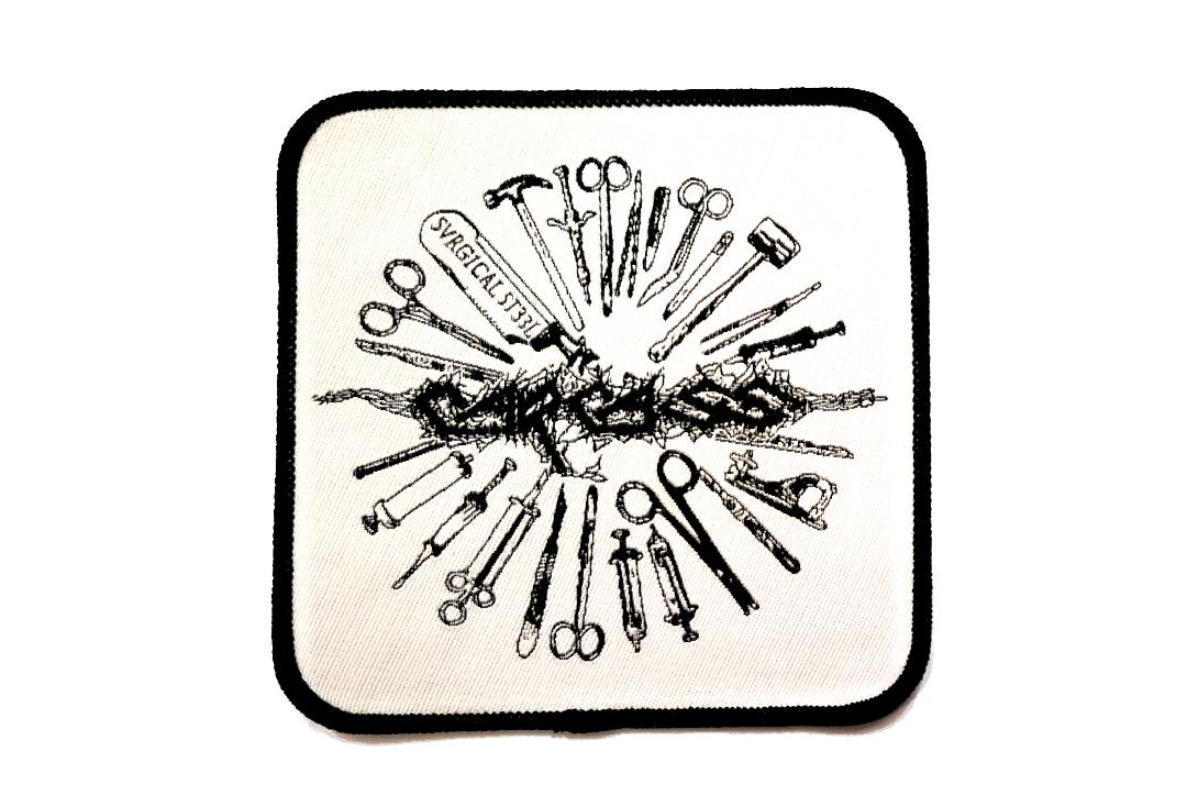 Official Band Merch | Carcass - Tools Woven Patch