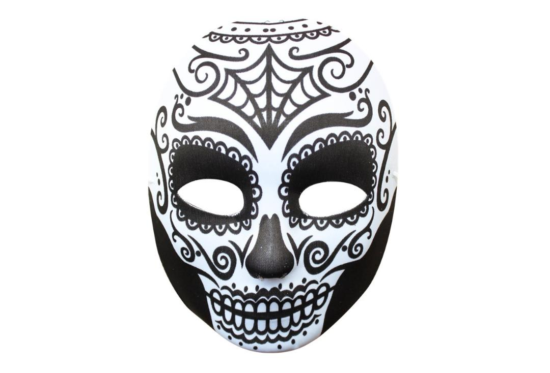 Void Clothing | Day Of The Dead Black & White Mask