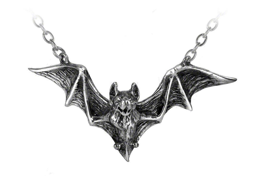Alchemy Gothic | Om Strygia Bat Necklace