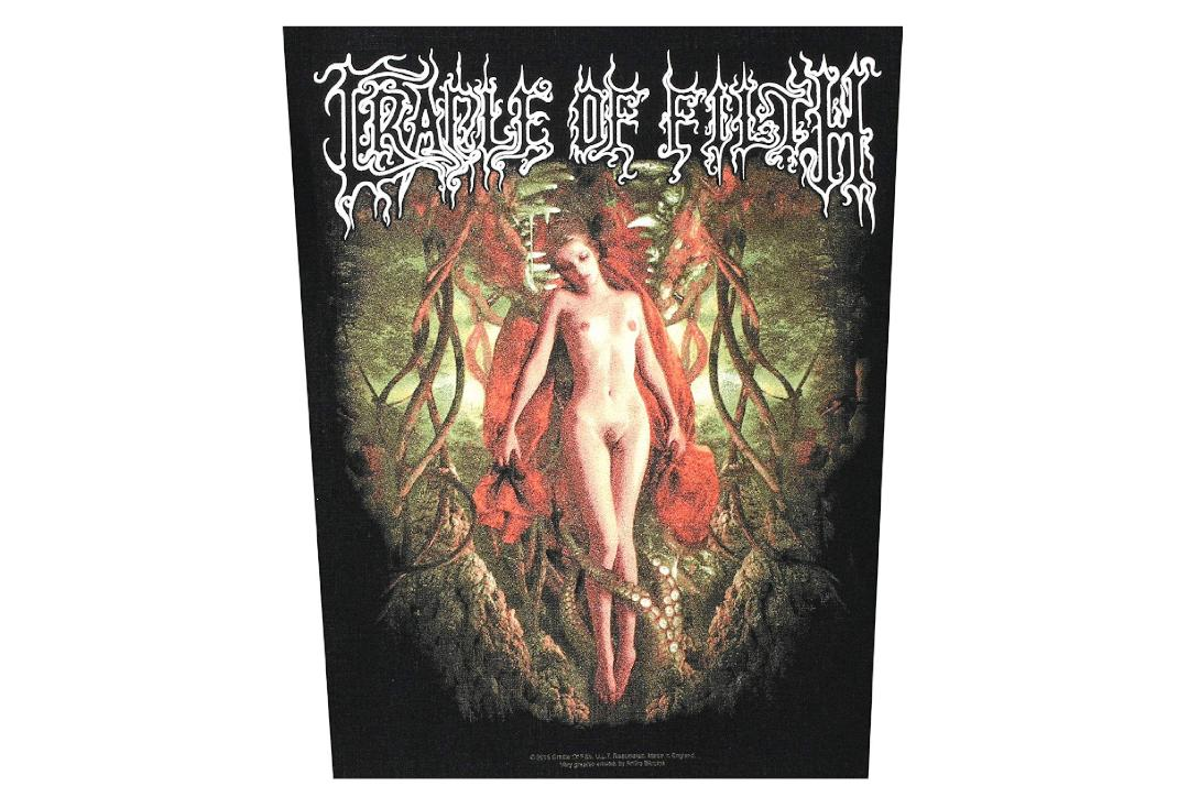 Official Band Merch | Cradle Of Filth - Deflowering Printed Back Patch