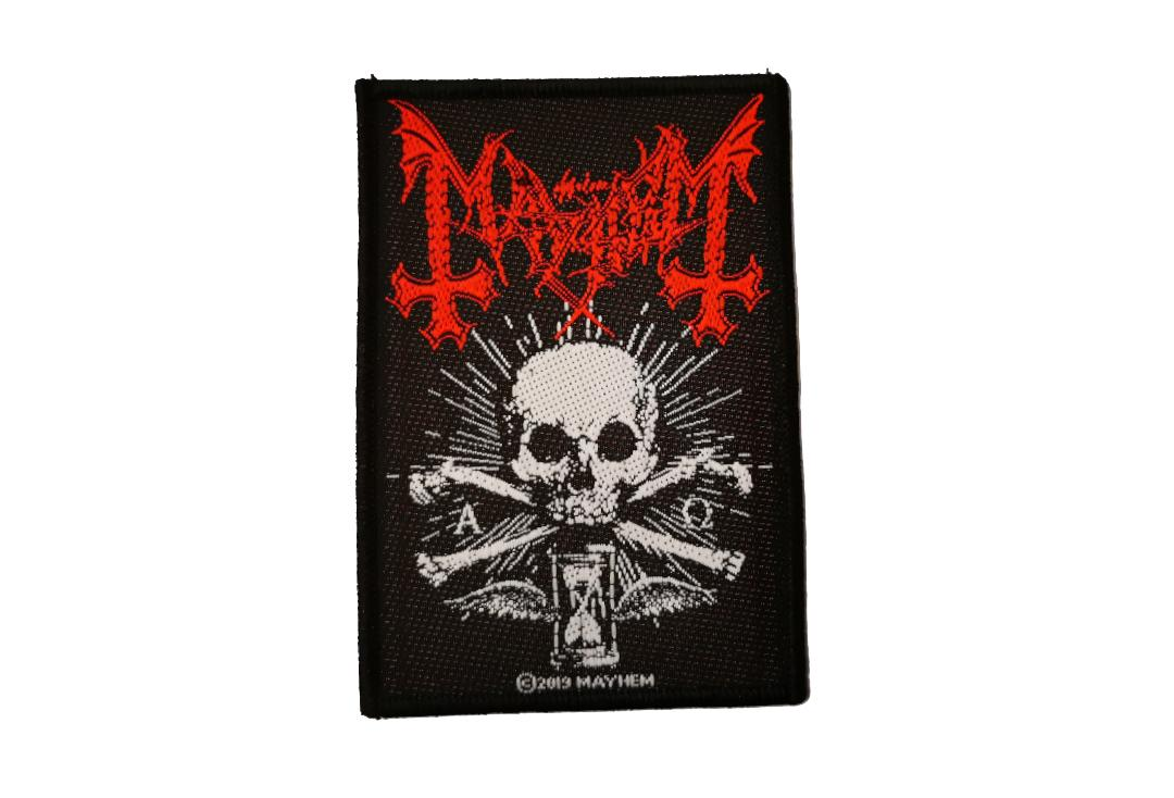 Official Band Merch | Mayhem - Alpha Omega Daemon Woven Patch