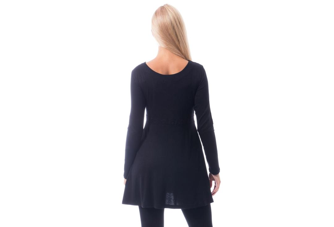 Innocent Lifestyle | Haily Long Sleeve Top - Back