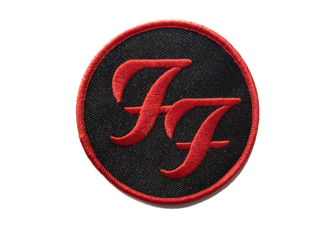 Official Band Merch | Foo Fighters - Circle Logo Woven Patch