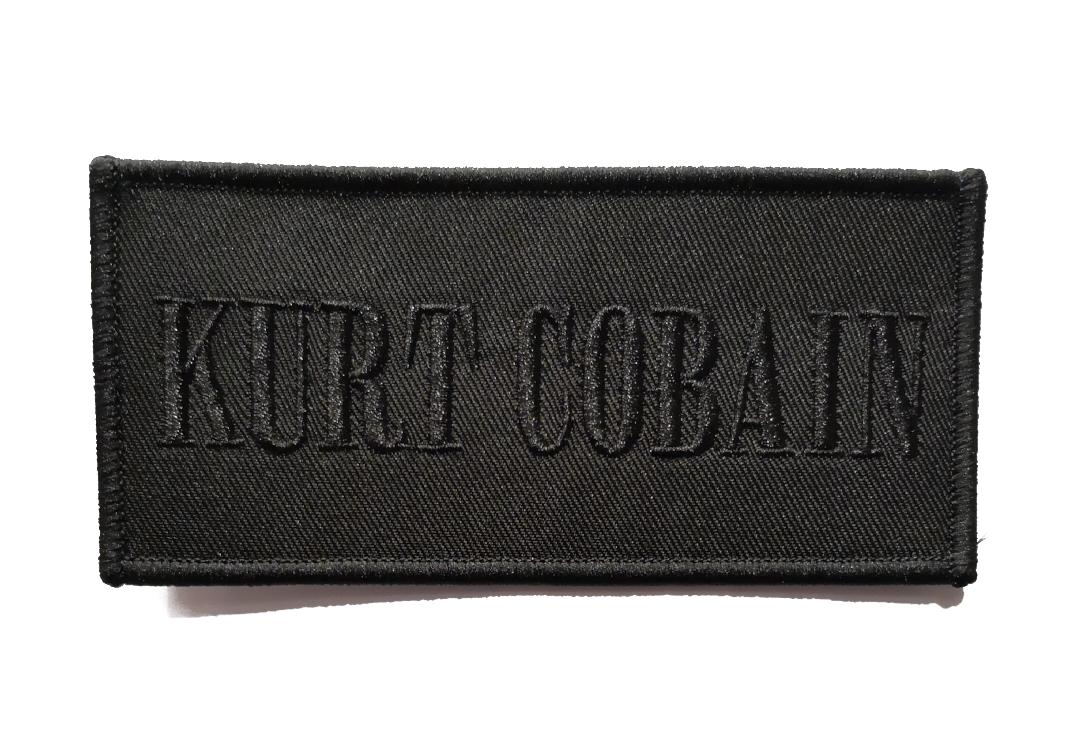 Official Band Merch | Kurt Cobain - Logo Woven Patch