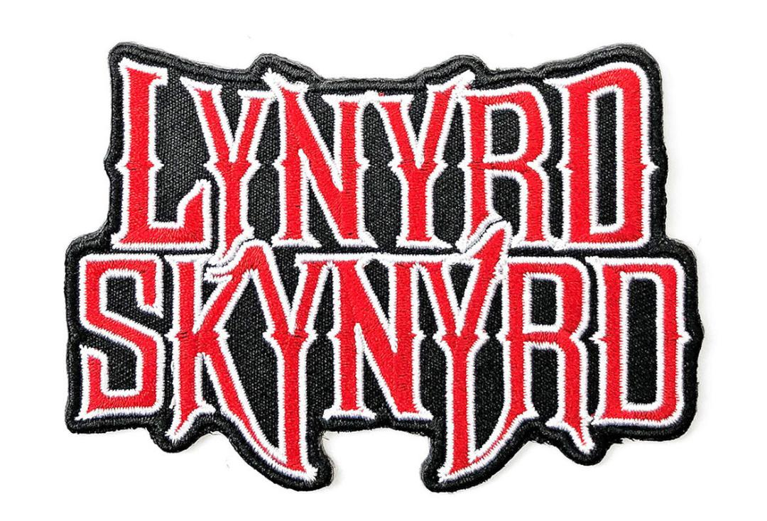 Official Band Merch | Lynyrd Skynyrd - Logo Woven Patch