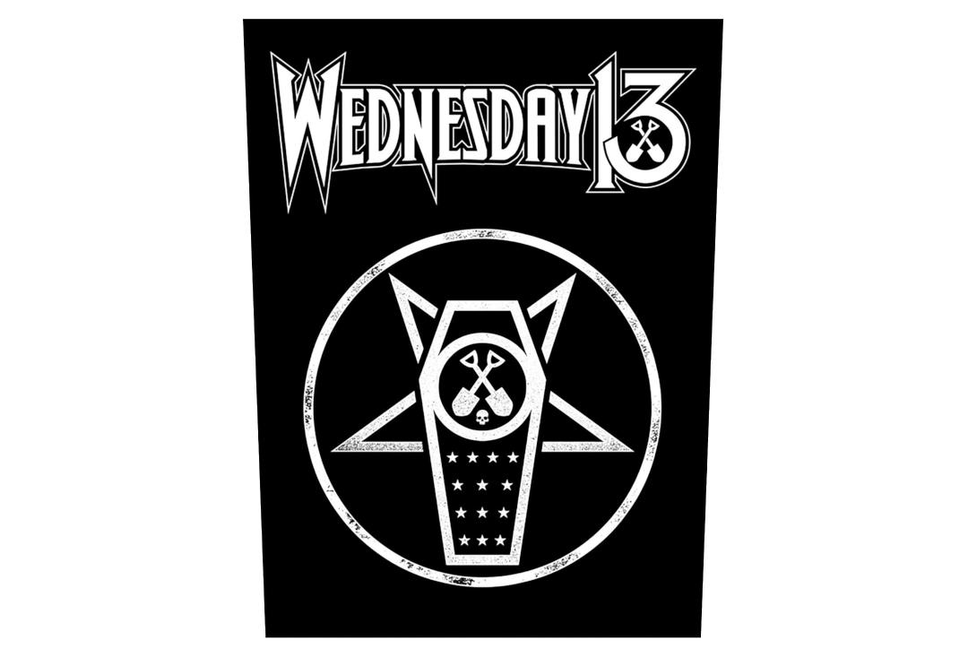 Official Band Merch | Wednesday 13 - What The Night Brings Printed Back Patch
