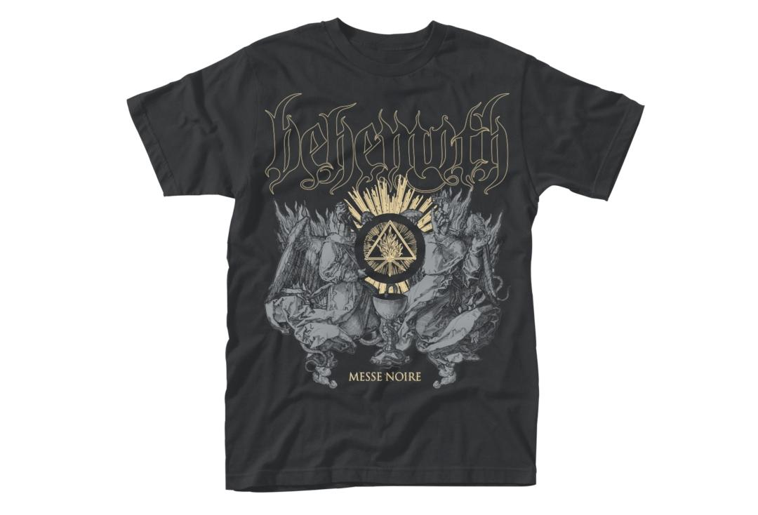 Official Band Merch | Behemoth - Messe Noir Men's Short Sleeve T-Shirt