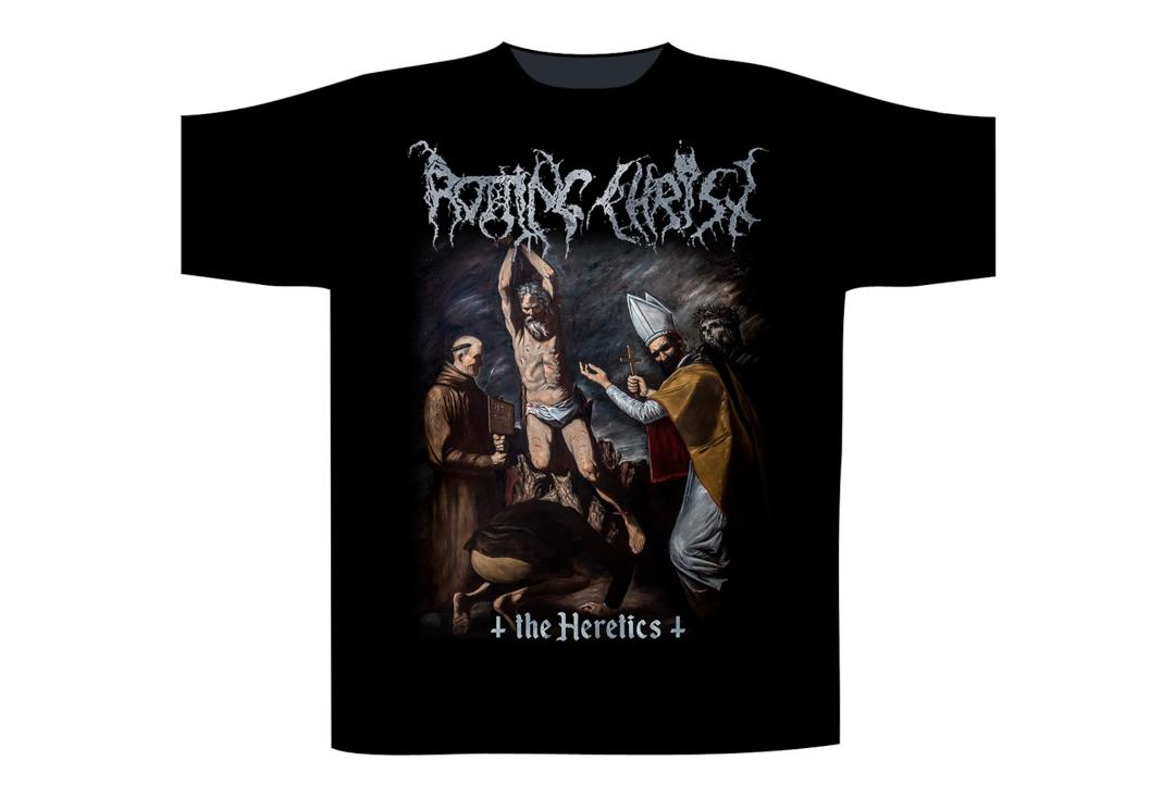Official Band Merch | Rotting Christ - The Heretics
