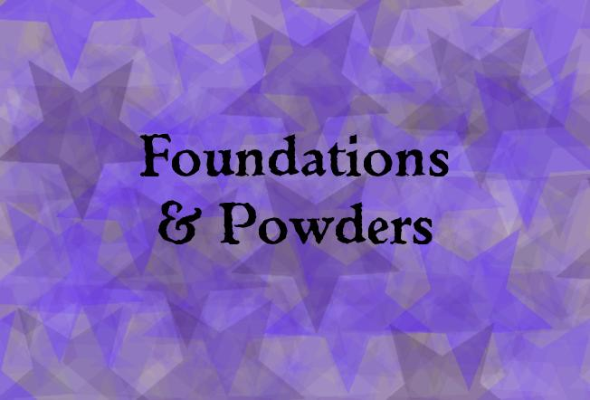 Foundations & powders