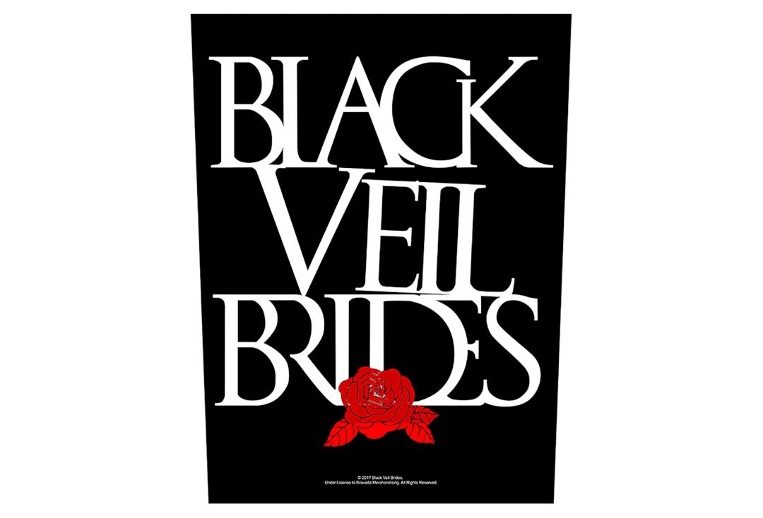 Official Band Merch | Black Veil Brides - Rose Printed Back Patch