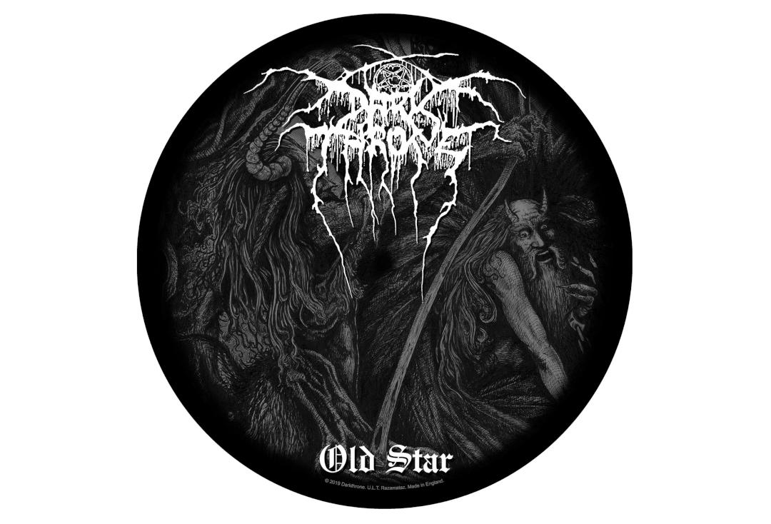 Official Band Merch | Darkthrone - Old Star Printed Back Patch