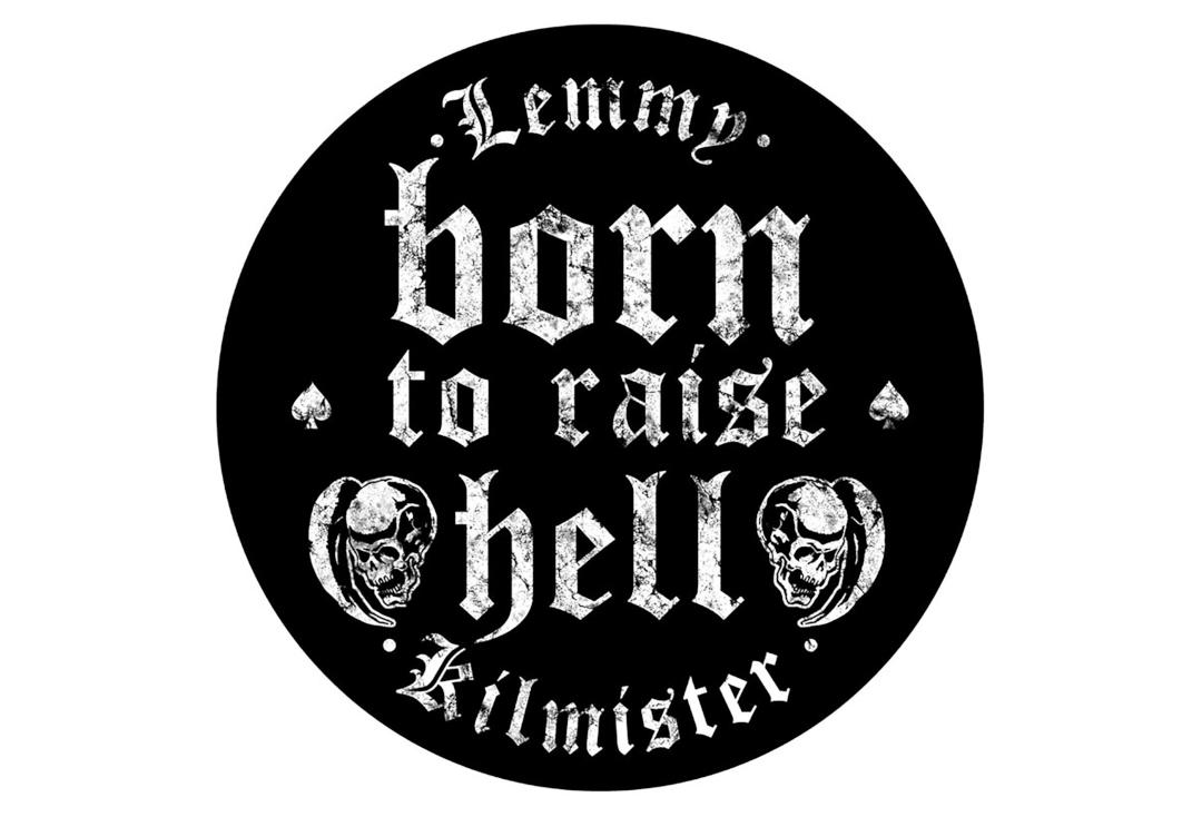 Official Band Merch | Lemmy - Born To Raise Hell Printed Back Patch