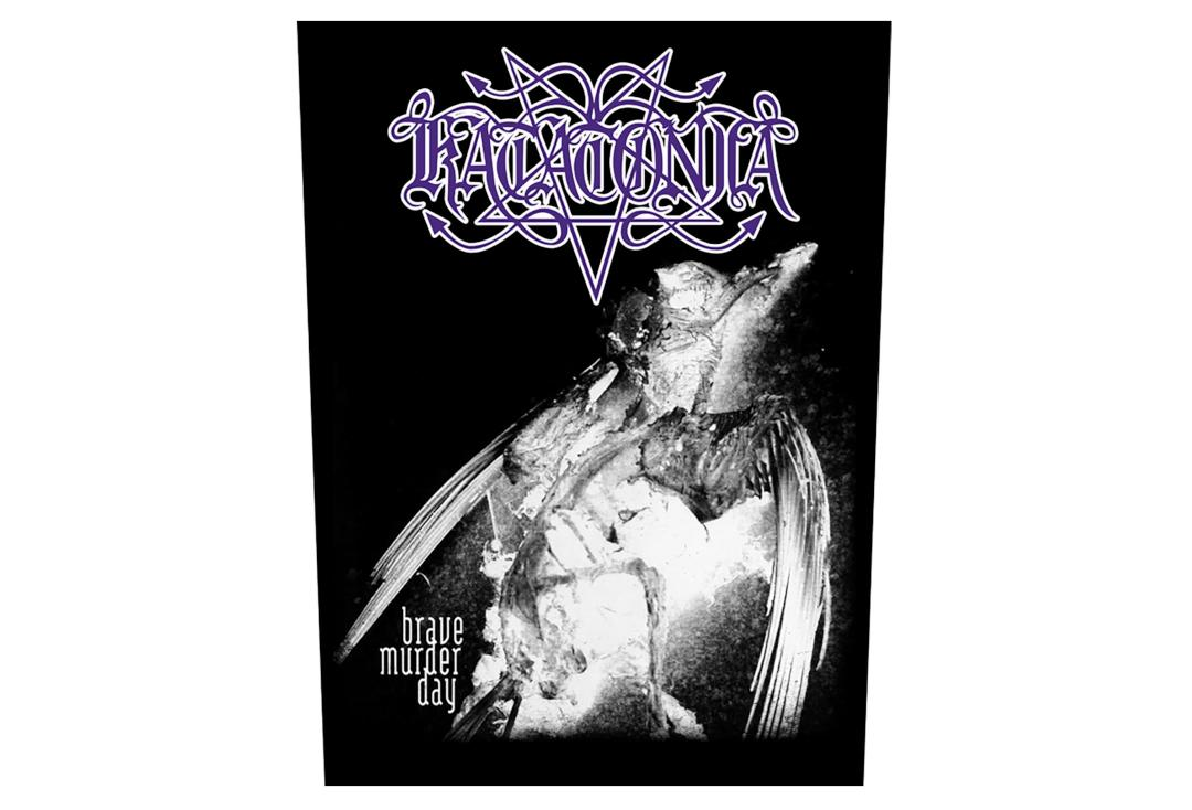 Official Band Merch | Katatonia - Brave Murder Days Printed Back Patch