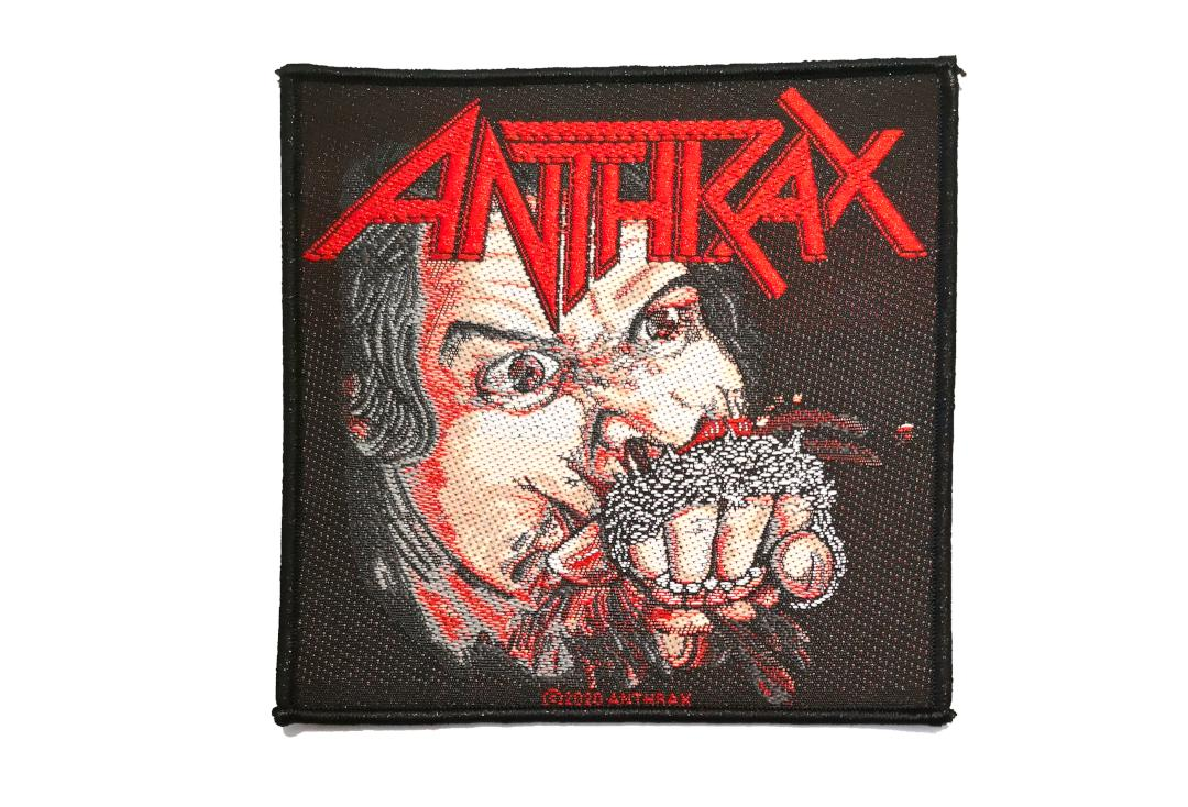 Official Band Merch | Anthrax - Fistful Of Metal Woven Patch
