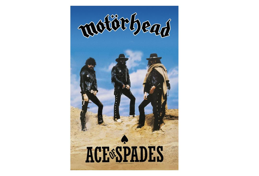 Official Band Merch | Motorhead - Ace Of Spades Printed Textile Poster