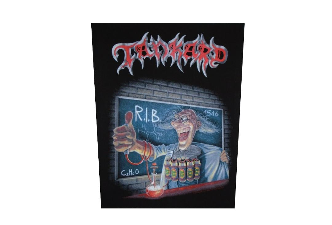 Official Band Merch | Tankard - R.I.B. Printed Back Patch