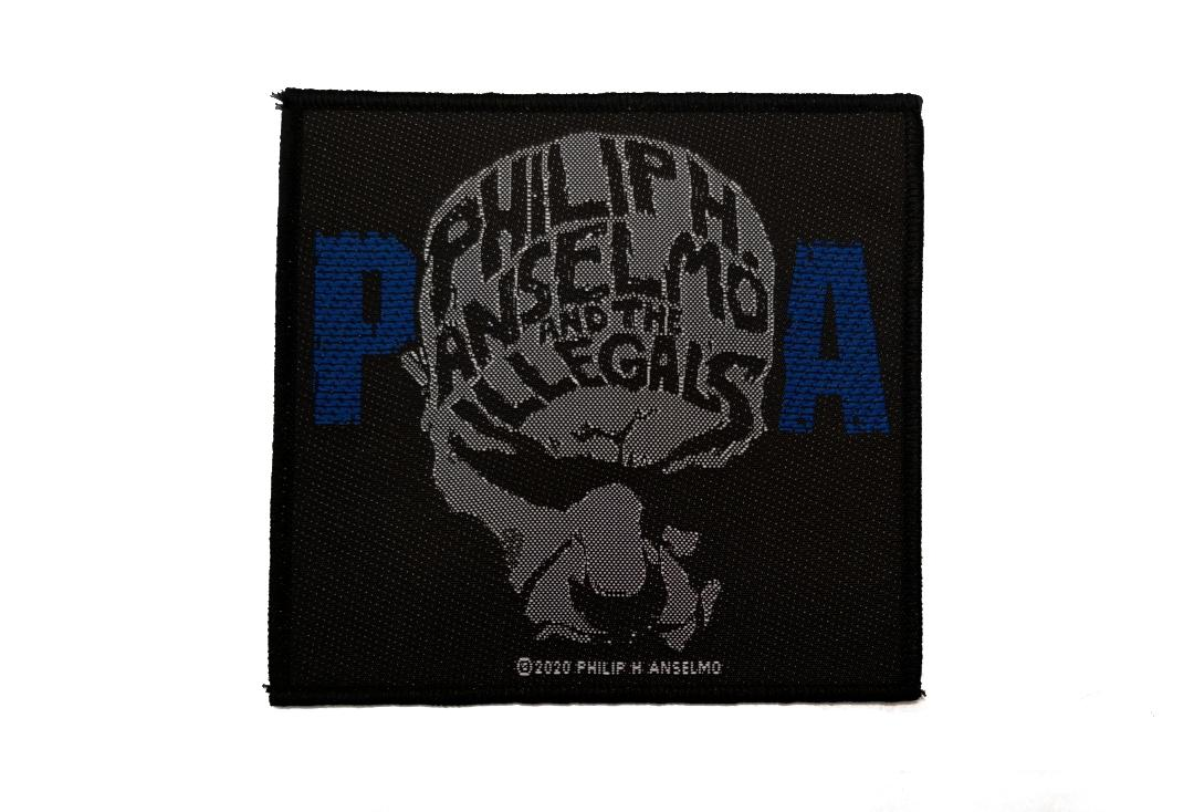 Official Band Merch | Philip H. Anselmo & The Illegals - Face Woven Patch