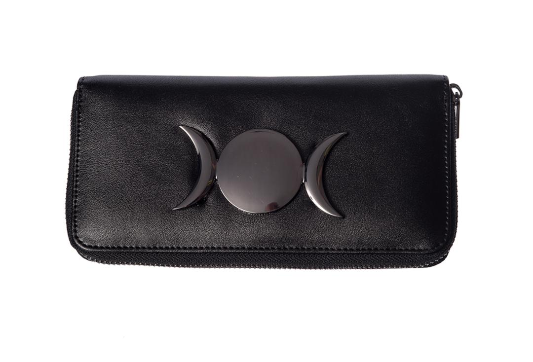 Banned Apparel | Vidonia Triple Moon Purse - Front