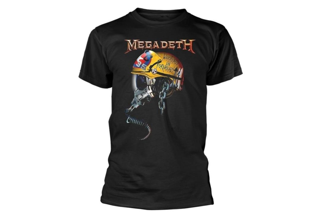 Official Band Merch | Megadeth - Warheads On Foreheads/Metal Vic Official Men's Short Sleeve T-Shirt