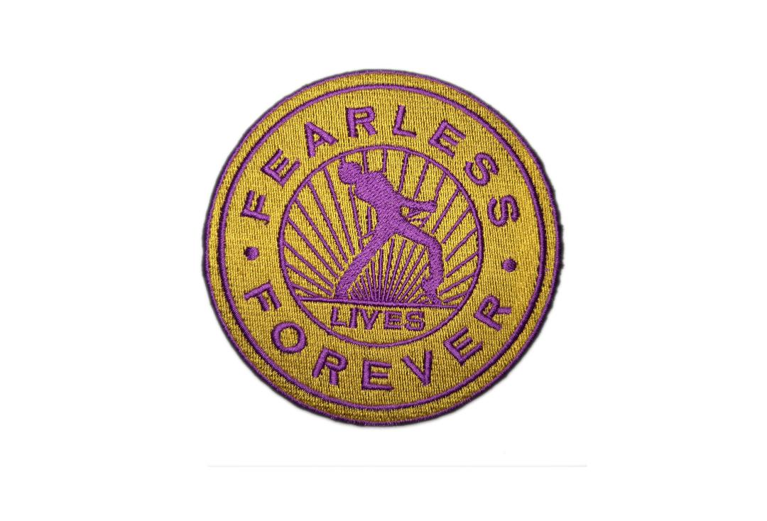 Official Band Merch | Queen - Fearless Forever Woven Patch