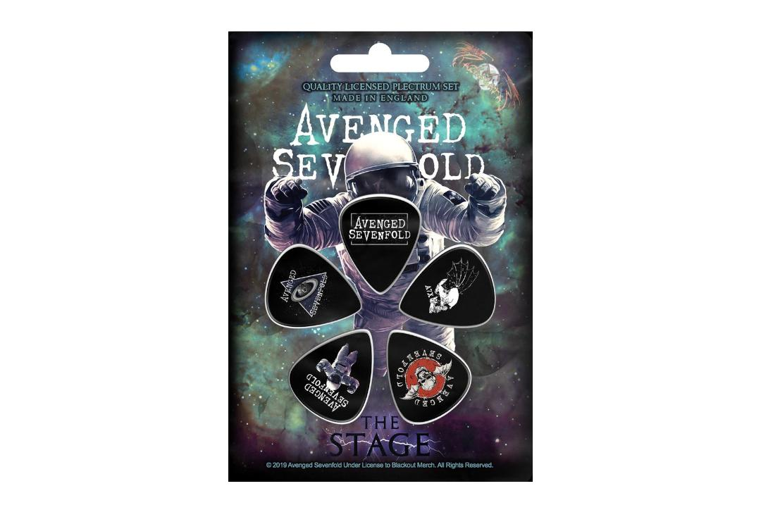 Official Band Merch | Avenged Sevenfold - The Stage Official Plectrum Pack