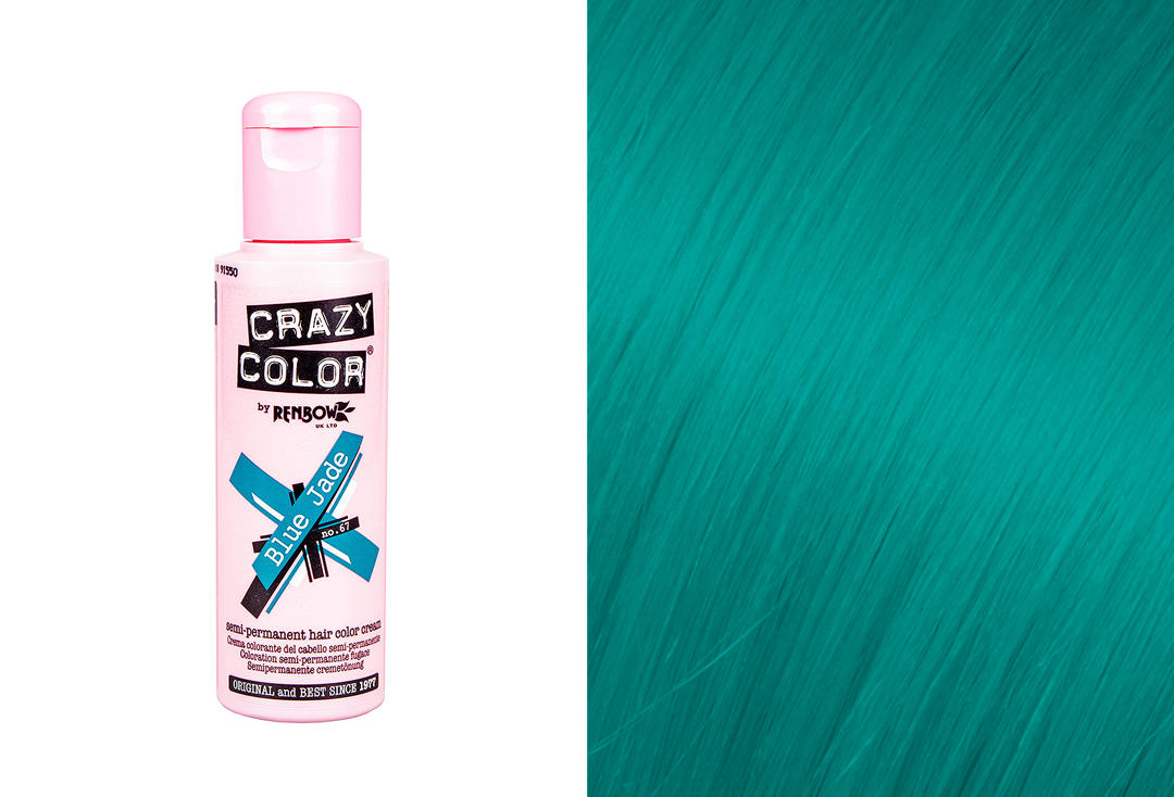 Renbow | Crazy Color Semi-Permanent Hair Colour (067 Blue Jade)