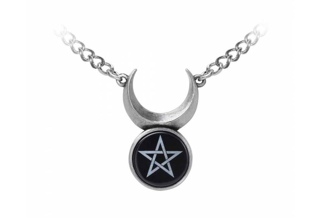 Alchemy Gothic | Sin Horned God Necklace - Front