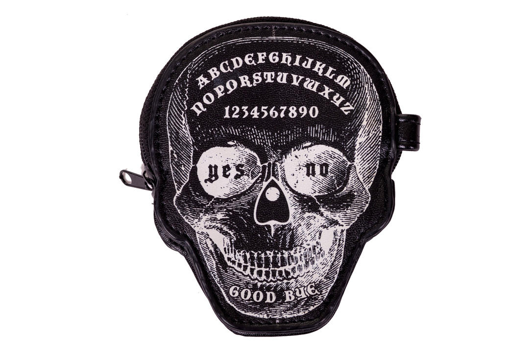 Banned Apparel | Power Trip Skull Coin Purse