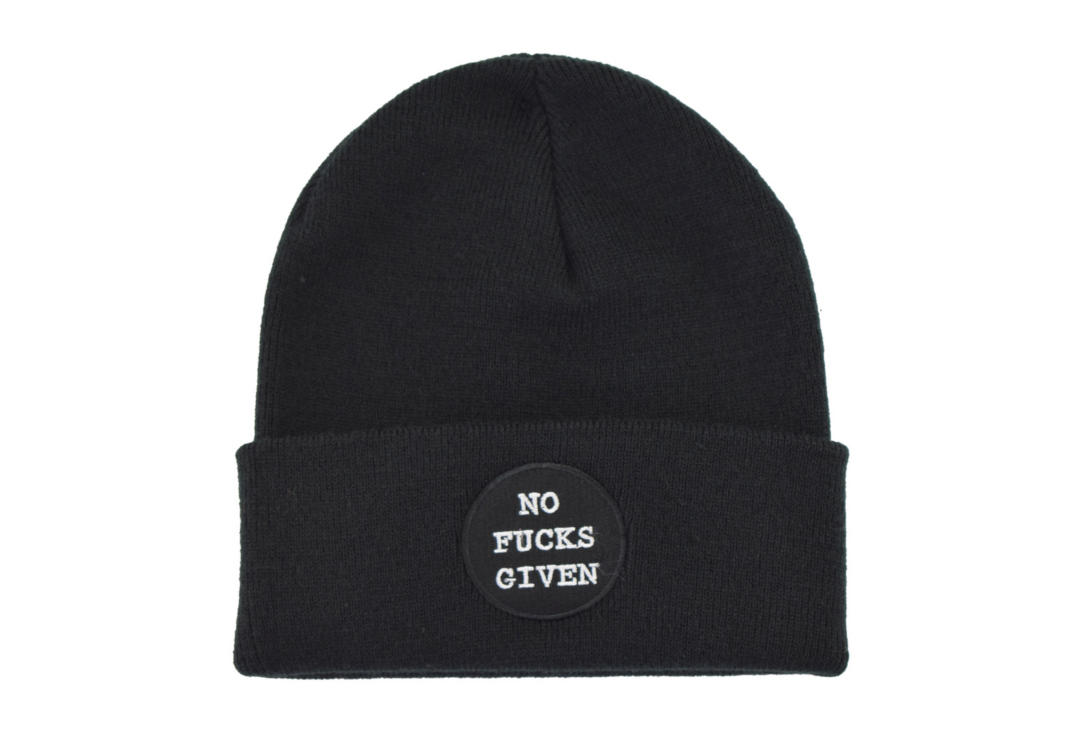 Darkside | No Fucks Beanie Hat
