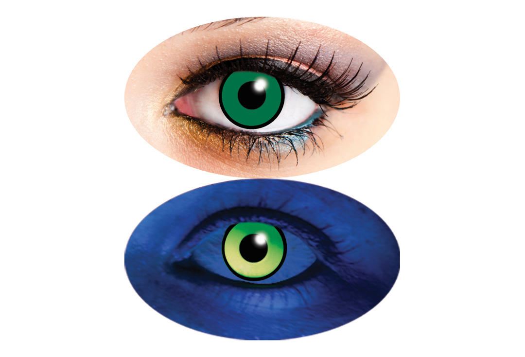Innovision | UV Green 90 Day Contact Lenses