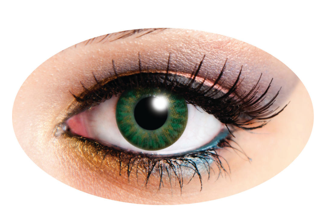 Innovision | Tri-Tone Green 90 Day Contact Lenses