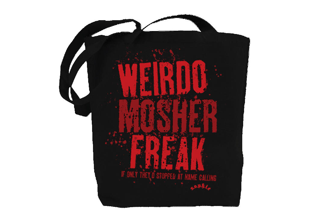 Sophie Lancaster | Red Weirdo Mosher Freak Tote Bag