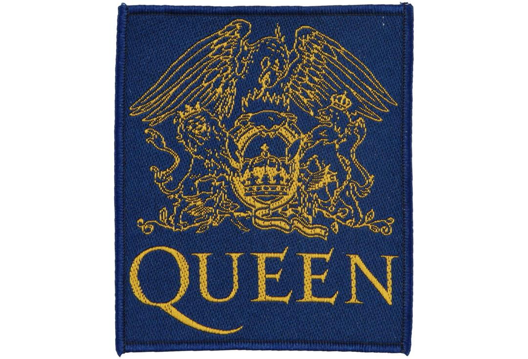 Official Band Merch | Queen - Crest Woven Patch