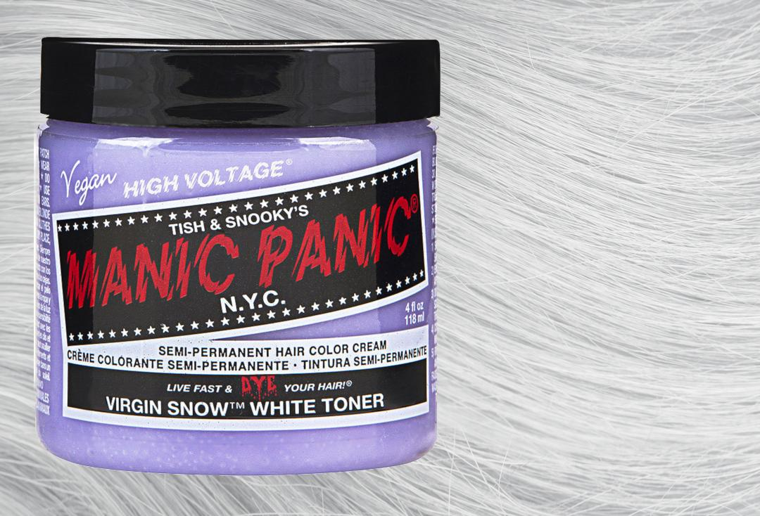 Manic Panic | Virgin Snow High Voltage Classic Cream Hair Colour