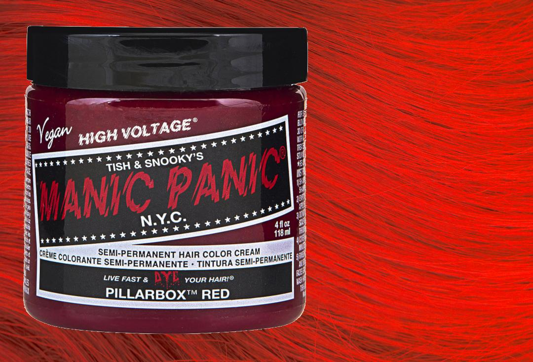 Manic Panic | Pillarbox Red High Voltage Classic Cream Hair Colour