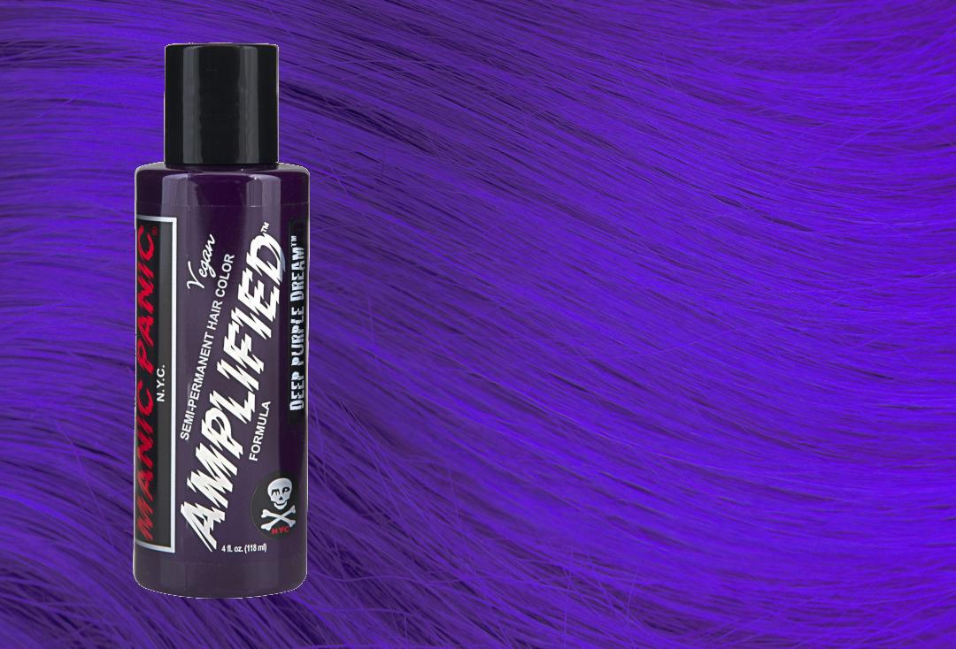 Manic Panic | Deep Purple Dream Amplified Hair Colour