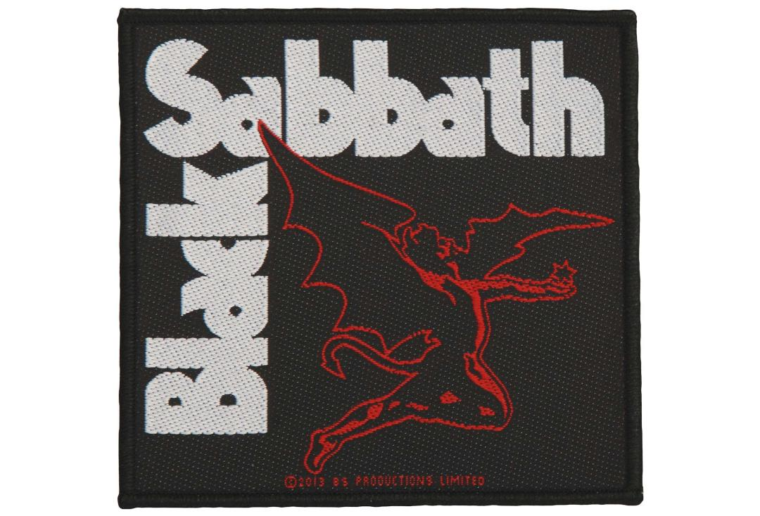 Official Band Merch | Black Sabbath - Creature Woven Patch