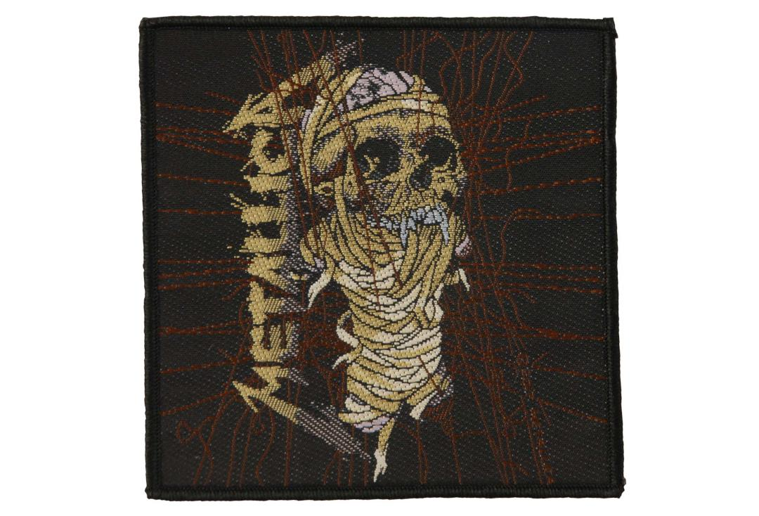 Official Band Merch | Metallica - One Woven Patch