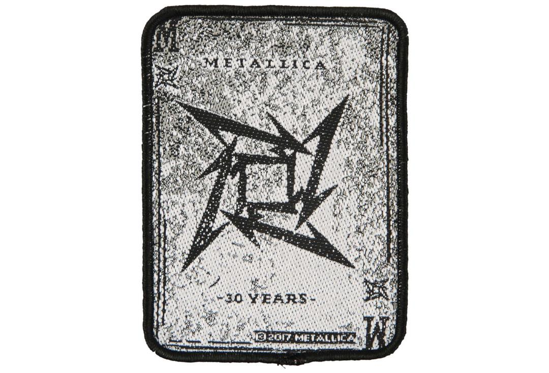 Official Band Merch | Metallica - Dealer Woven Patch