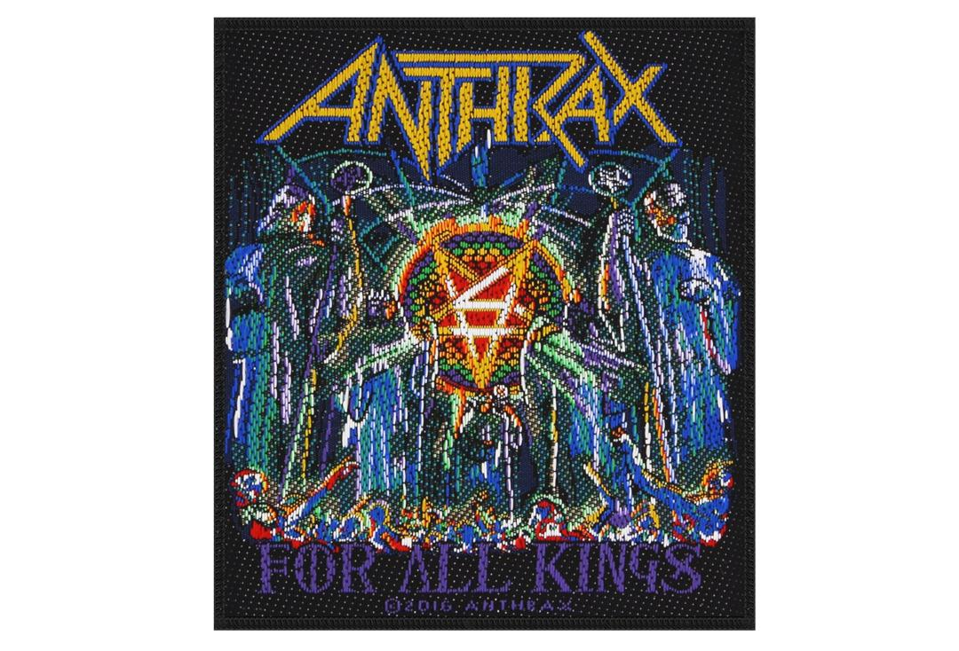 Official Band Merch | Anthrax - For All Kings Woven Patch