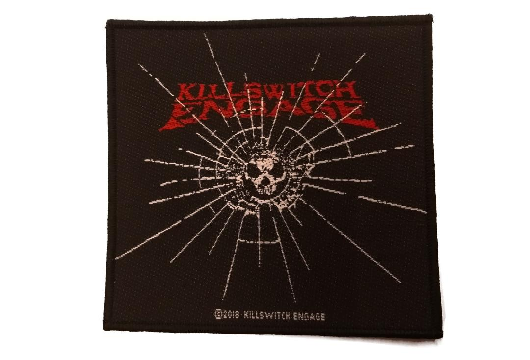 Official Band Merch | Killswitch Engage - Baseball Logo Woven Patch