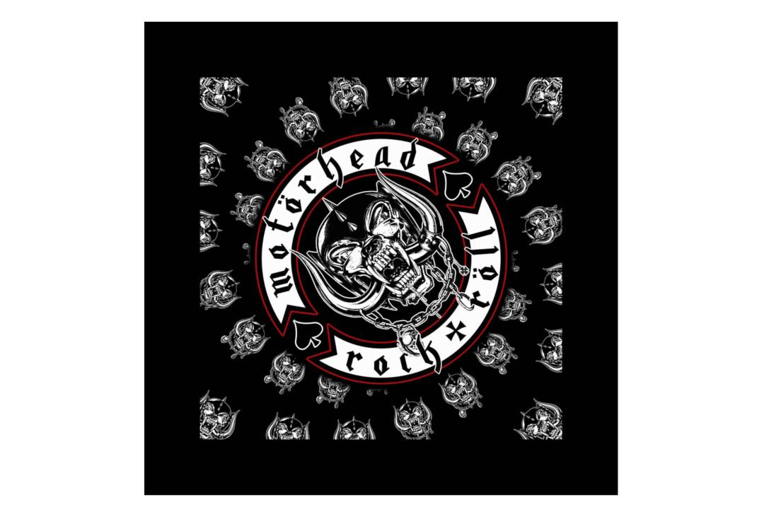 Official Band Merch | Motorhead - Biker Official Bandana