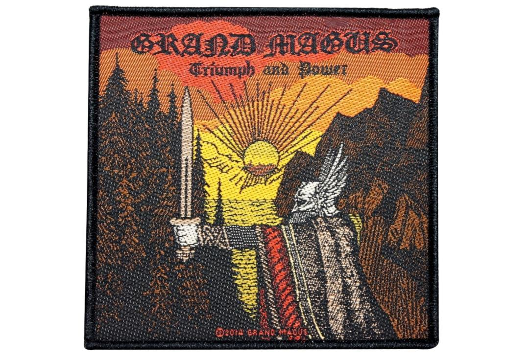 Official Band Merch | Grand Magus - Triumph And Power Woven Patch