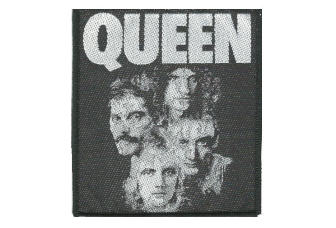 Official Band Merch | Queen - Group Faces Woven Patch
