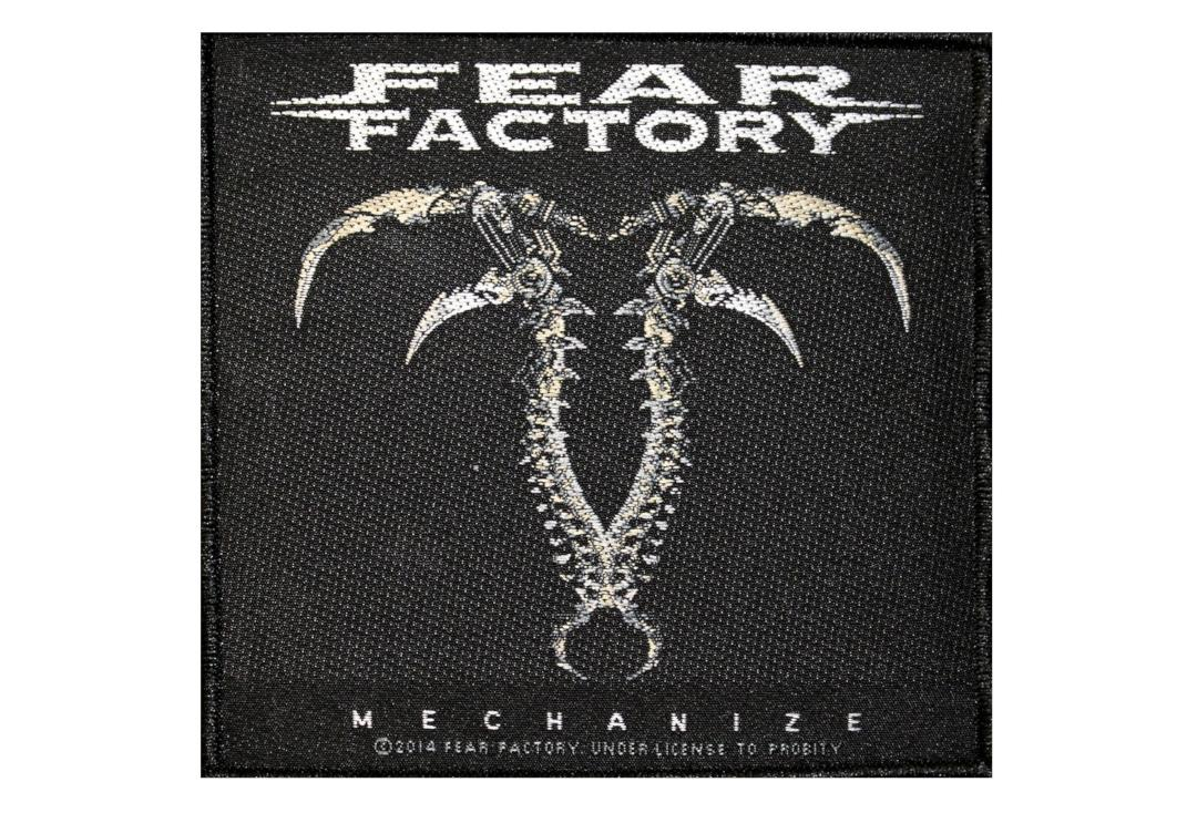 Official Band Merch | Fear Factory - Mechanize Woven Patch