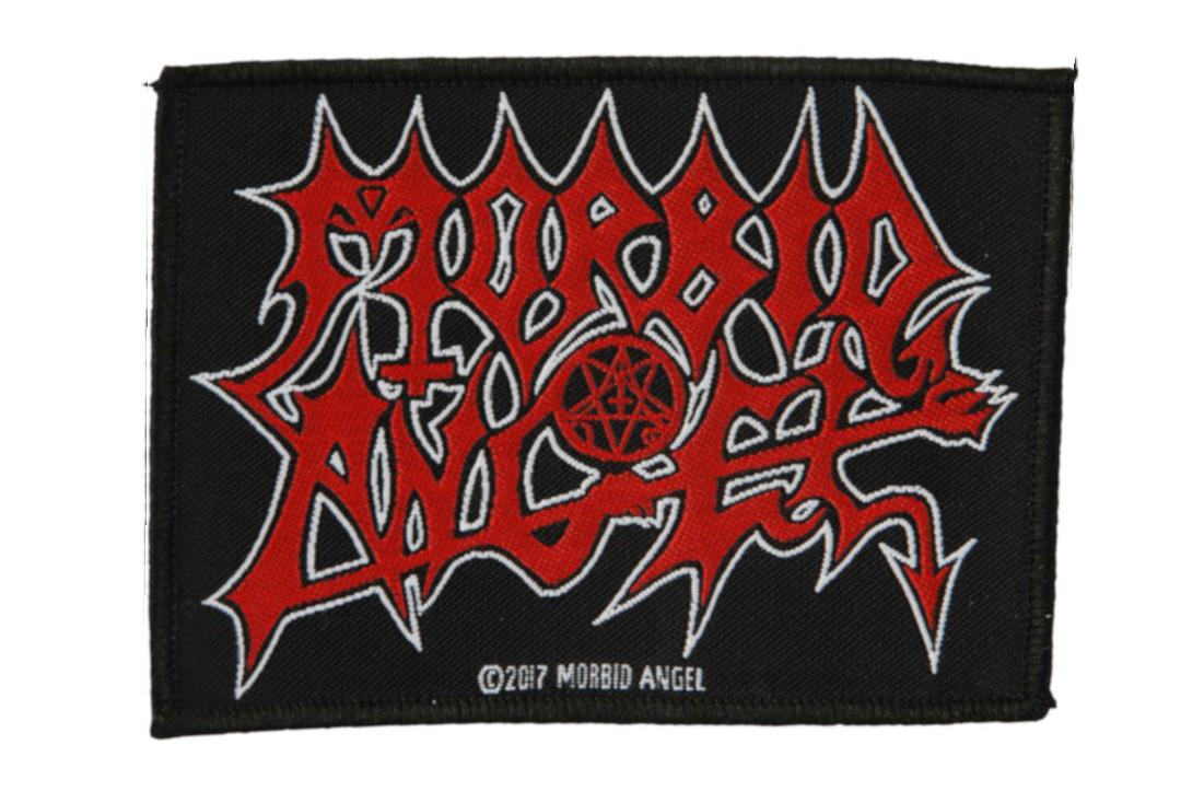 Official Band Merch | Morbid Angel - Logo Woven Patch