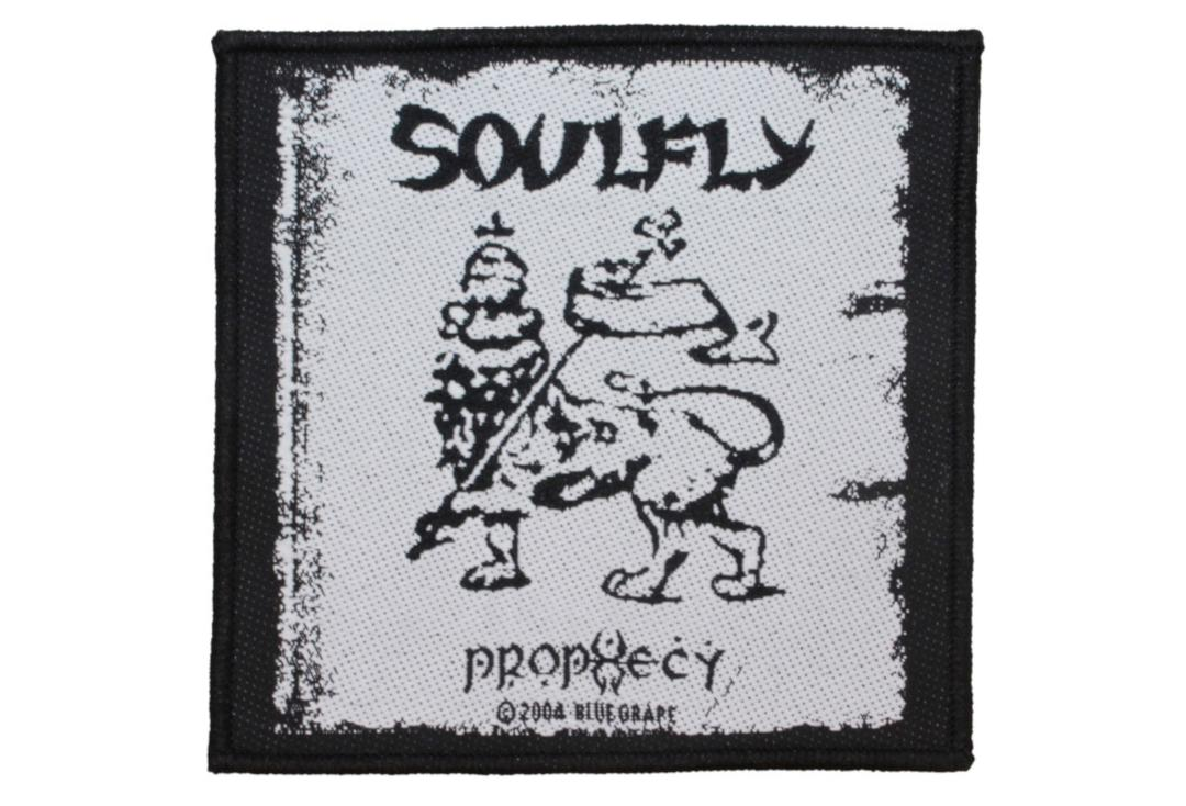 Official Band Merch | Soulfly - Prophecy Woven Patch