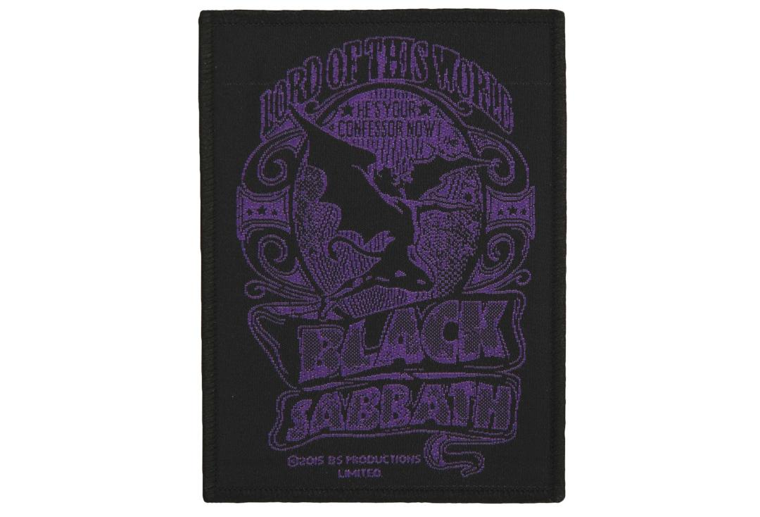 Official Band Merch | Black Sabbath - Lord Of This World Woven Patch