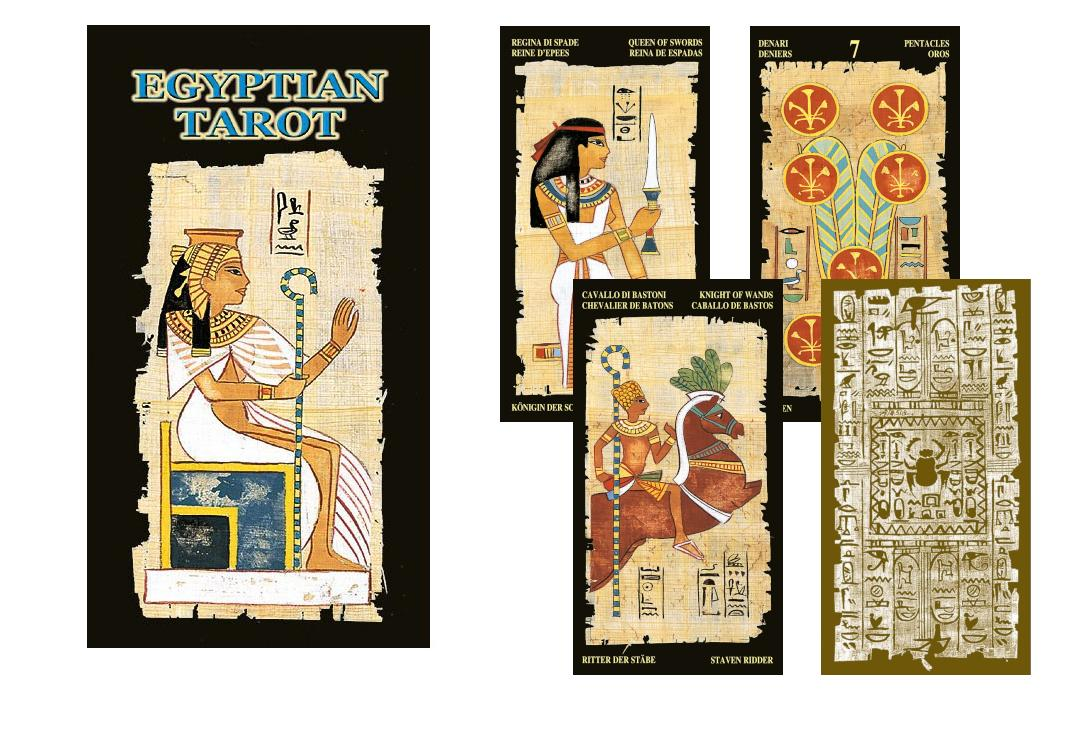 Lo Scarabeo | Egyptian Tarot Cards