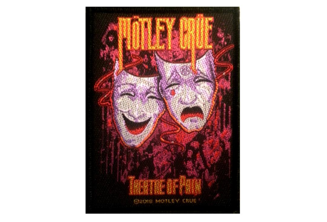 Official Band Merch | Motley Crue - Theatre Of Pain Woven Patch